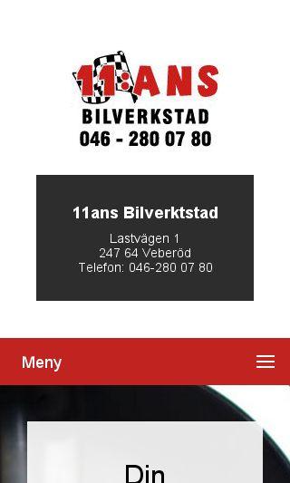Mobile preview of bilverkstadlund.nu