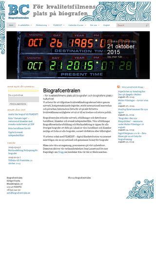 Mobile preview of biografcentralen.se