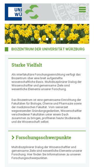 Mobile preview of biozentrum.uni-wuerzburg.de