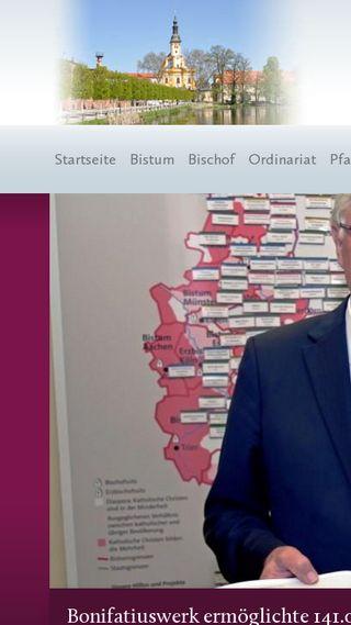 Mobile preview of bistum-goerlitz.de