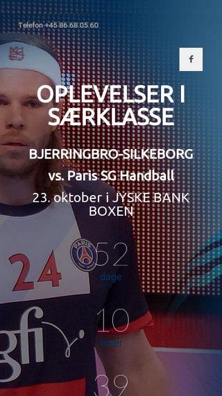 Mobile preview of bjerringbro-silkeborg.dk