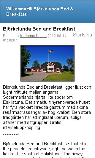 Mobile preview of bjorkelunda.se