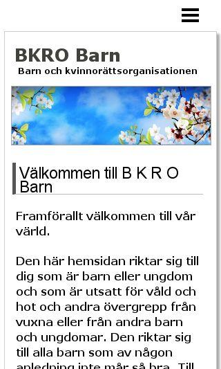 Mobile preview of bkrobarn.eu
