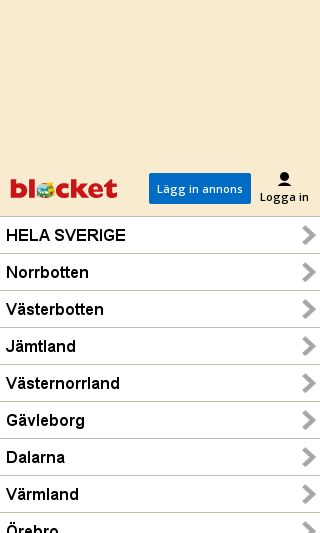 Mobile preview of blocket.se