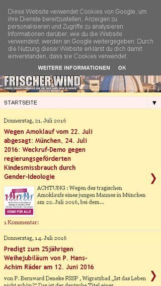 Mobile preview of denzinger-katholik.blogspot.com