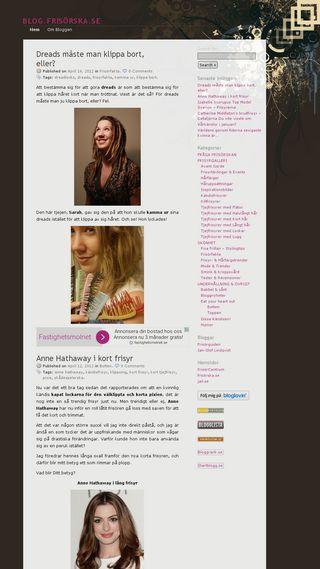 Mobile preview of blog.frisorska.se