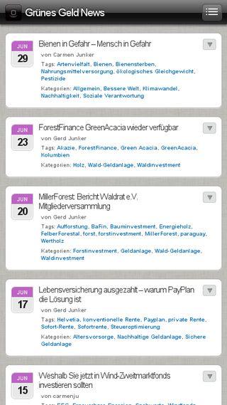 Mobile preview of blog.gruenesgeld.net