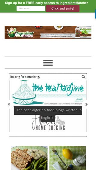 Mobile preview of blog.ingredientmatcher.com