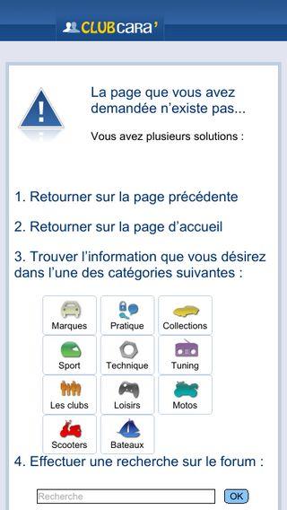 Mobile preview of blogs.caradisiac.com