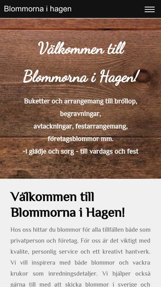 Mobile preview of blommornaihagen.se
