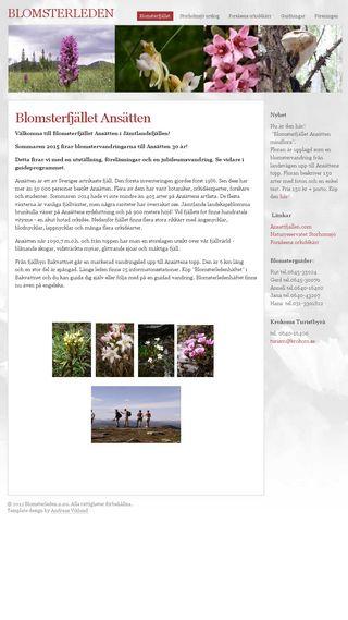 Mobile preview of blomsterleden.n.nu