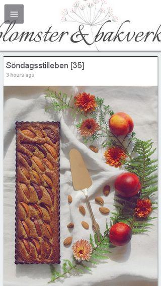 Mobile preview of blomsterochbakverk.se