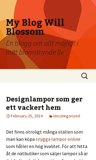 Mobile preview of blossommagazine.se