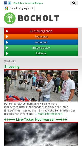 Mobile preview of bocholt.de