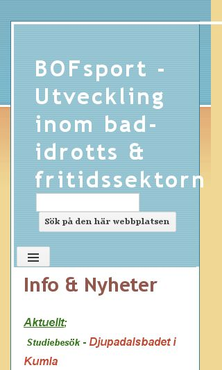 Mobile preview of bofsport.se