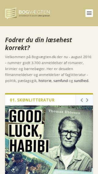 Mobile preview of bogvaegten.dk