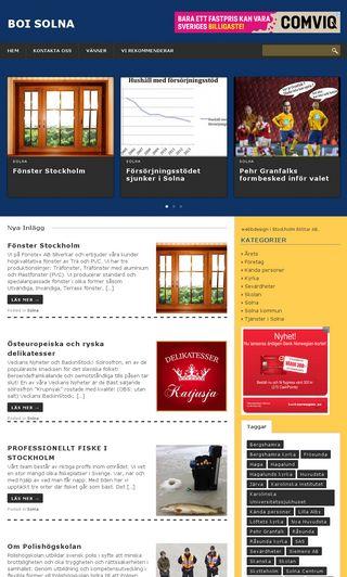 Mobile preview of boisolna.se