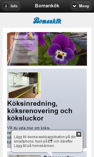 Mobile preview of bomankok.se