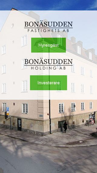 Mobile preview of bonasudden.se