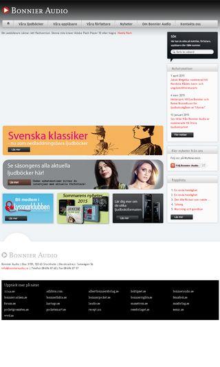 Mobile preview of bonnieraudio.se