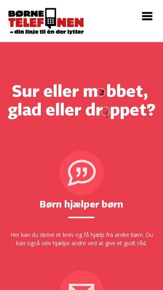 Mobile preview of bornetelefonen.dk