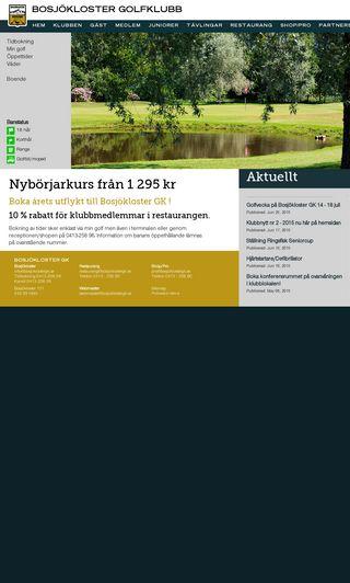 Mobile preview of bosjoklostergk.se