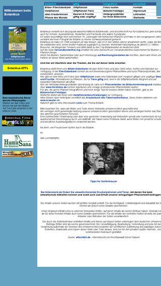 Mobile preview of botanikus.de