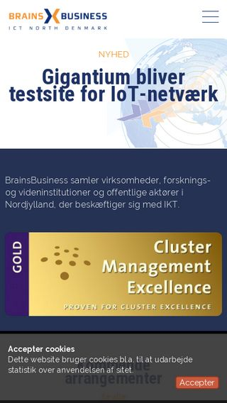 Mobile preview of brainsbusiness.dk