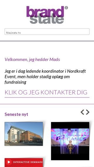 Mobile preview of brandstate.dk