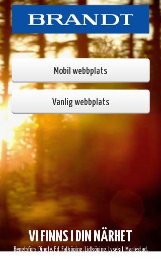 Mobile preview of brandtbil.se