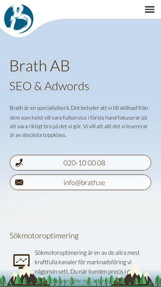 Mobile preview of brath.se