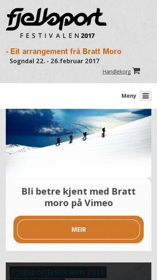 Mobile preview of brattmoro.no