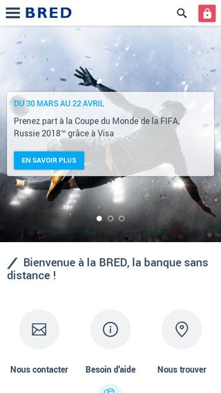 Mobile preview of bred.fr