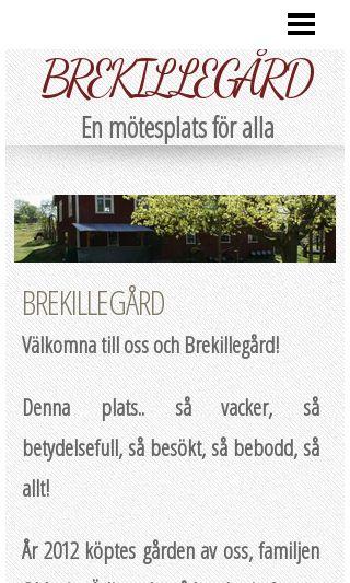 Mobile preview of brekillegard.se