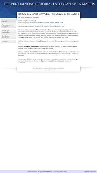 Mobile preview of brevikshistoria.n.nu