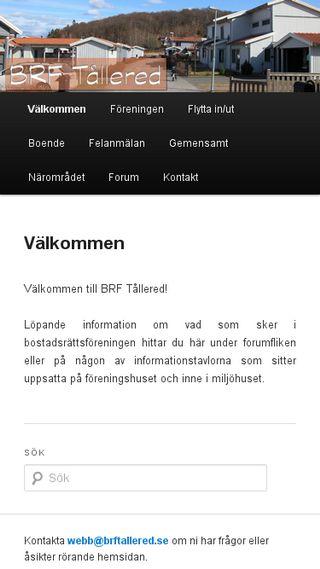Mobile preview of brftallered.se