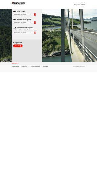 Mobile preview of bridgestone.se