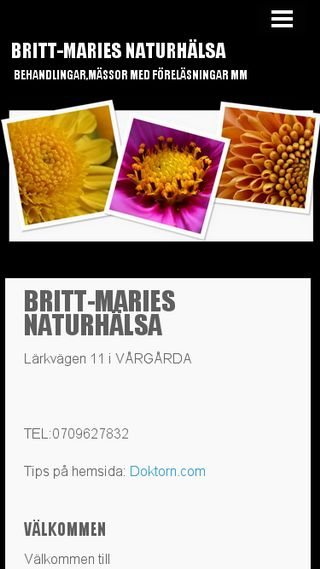 Mobile preview of brittmariesnaturhalsa.n.nu