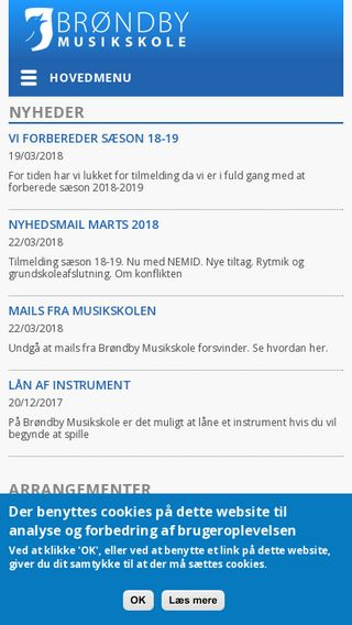 Mobile preview of brondbymusikskole.dk