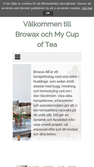 Mobile preview of browax.se