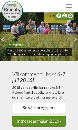 Mobile preview of brunnbylantbrukardag.se