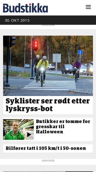 Mobile preview of budstikka.no