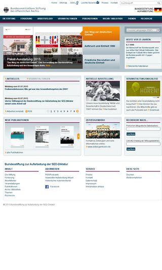 Mobile preview of bundesstiftung-aufarbeitung.de