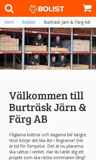 Mobile preview of burtraskjarn.se