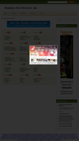 Mobile preview of businessfreedirectory.biz