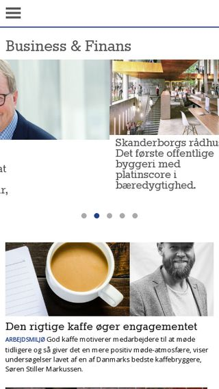 Mobile preview of businessogfinans.dk