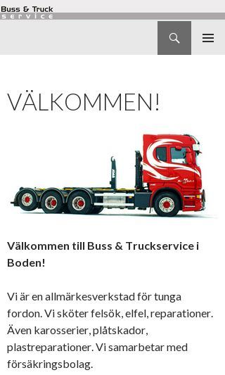 Mobile preview of bussotruck.se