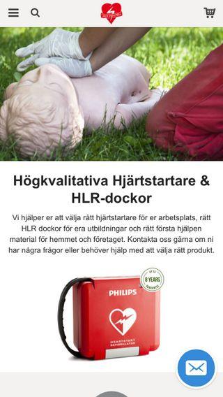 Mobile preview of butik.hjartstartare-aed.se