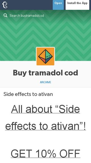 Mobile preview of buytramadolcod.tumblr.com