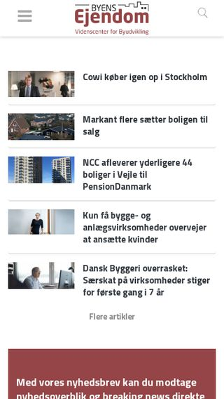Mobile preview of byensejendom.dk